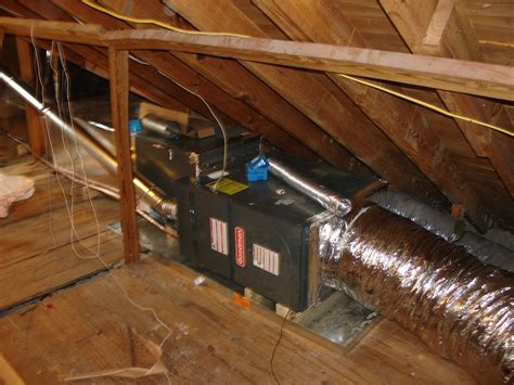 attic mounted central air conditioners attic ideas - Attic Mounted Air Conditioning System