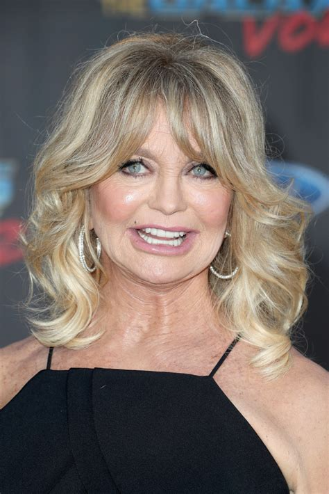 Goldie Hawn Hairstyles goldie hawn medium curls with bangs goldie hawn looks