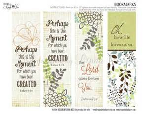 Bookmarks printable christian scripture 7 bookmarks instant