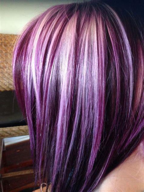 25 best ideas about purple peekaboo hair on pinterest purple peekaboo highlights peekaboo