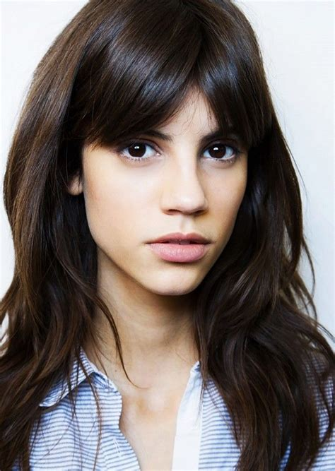 long choppy bangs center part 1000 ideas about center part bangs on pinterest parted