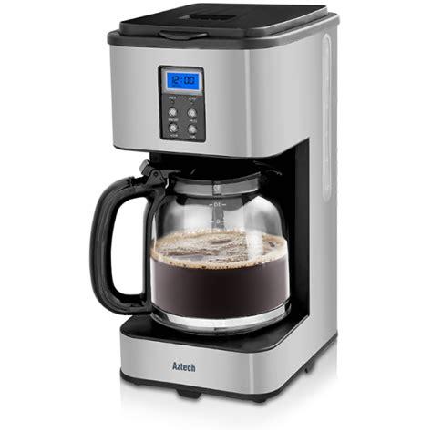 Filter Coffee Maker aztech silvertone drip filter coffee maker afc6600