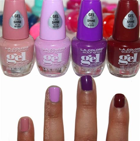 La Nail Colorpop bargainprincess la colors color craze gel