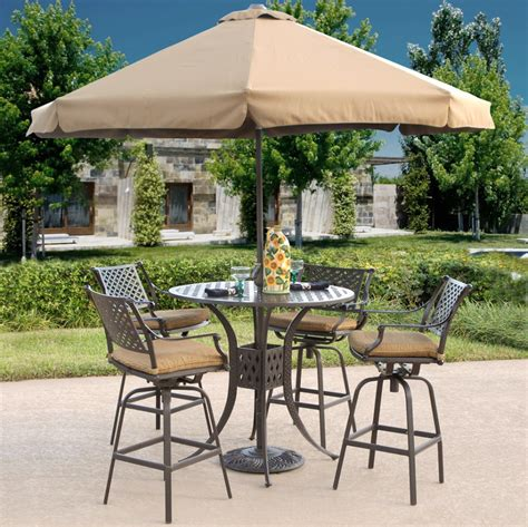 Bar Height Bistro Table Outdoor Dining Room Astounding Outdoor Dining Room Design With Outdoor Bar Height Bistro Table Set