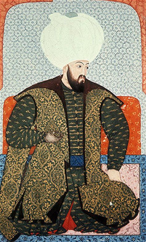 All Ottoman Sultans Beyazid Ii Portrait From Sixteeth Century Manuscript H