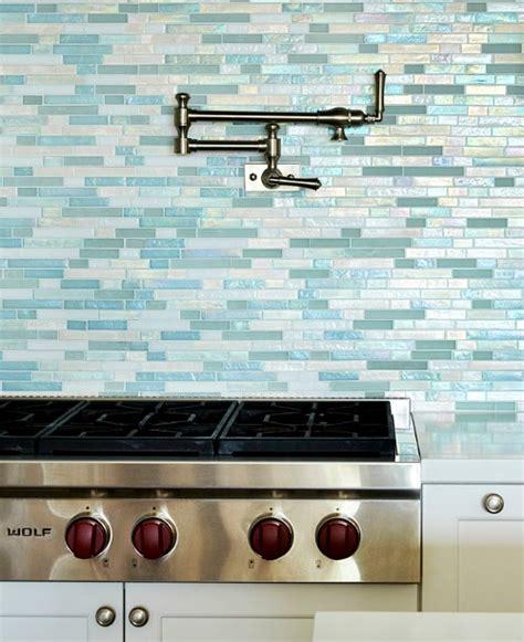 turquoise glass tile backsplash turquoise blue white theme kitchen paradise found completely coastal