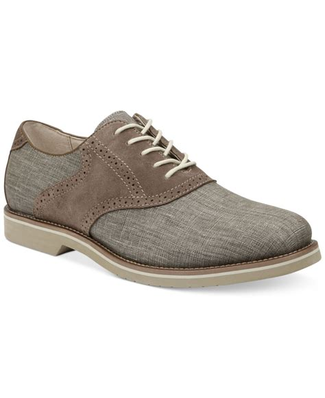 saddle oxfords shoes g h bass co bass carson saddle oxfords in gray for