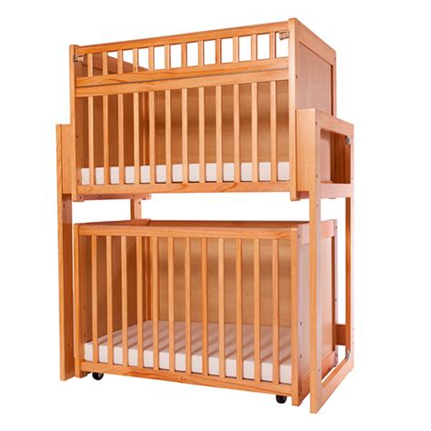 Crib Risers by L A Baby Cw 755s Crib With Solid End Panels Schoolsin
