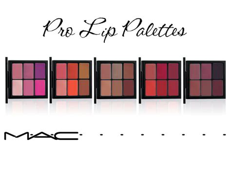 Get A Fashionable Lip Palette For Fall by Fall 2012 M 183 A 183 C Pro Lip Palettes Beautiful Makeup Search