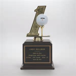Sport trophies awards amp gifts hole in one trophy awards hole in one