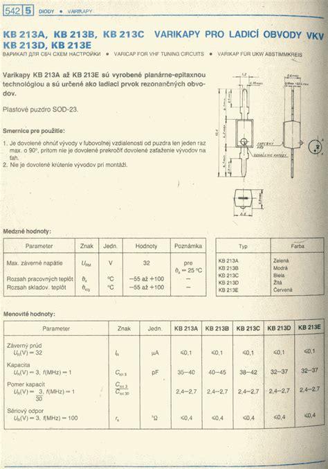 varactor diode datasheet kb213ap varactor diode 37pf 3v varicap ebay