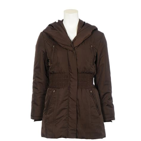 Quilted Womens Coats by S Excelled 174 Quilted Hooded Coat 218287 Insulated