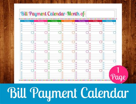 search results for bi weekly bill payment schdule