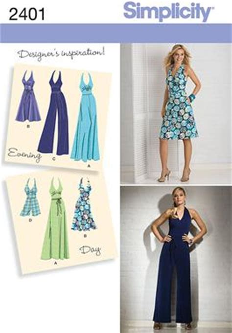 pattern review uk simplicity 2401 misses special occasion dresses