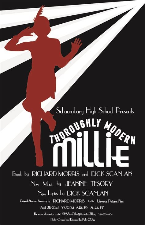 Call Millie d211 post schaumburg high school to perform musical