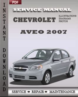 online auto repair manual 2007 chevrolet aveo on board diagnostic system chevrolet aveo 2007 problem guide repair quality service repair manuals