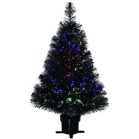 walmart canada four foot xmas trees time pre lit 32 quot fiber optic artificial tree black walmart
