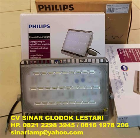 Lu Sorot Led 100w Philips jual lu sorot led philips bvp161 100 watt pju led