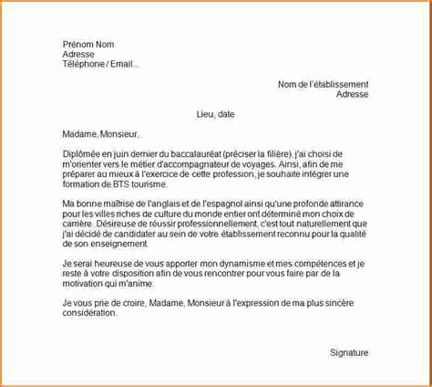 Exemple Lettre De Motivation Apb Nrc 6 Lettre De Motivation Bts Nrc Alternance Exemple Lettres