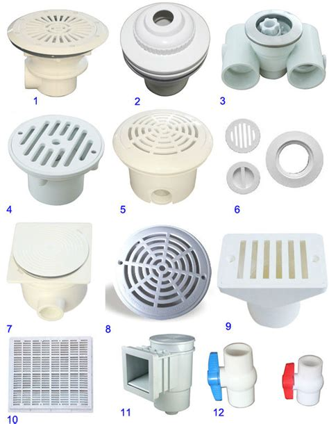 Pool Plumbing Fittings by Swimming Pool Accessories Grating Nozzles