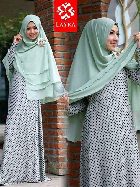 Shehrazat Syari 2 de key hijau telur asin baju muslim gamis modern