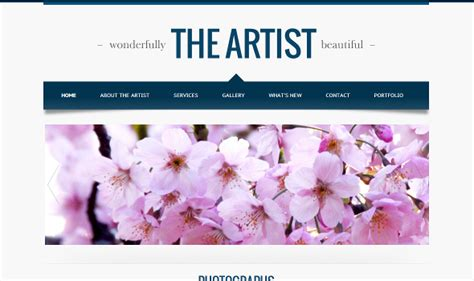 google website template images