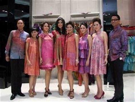 fashion keren  novi model baju batik modern terbaru