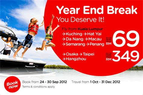 airasia year end offer airasia promotion sep 2012 malaysia airport klia2 info