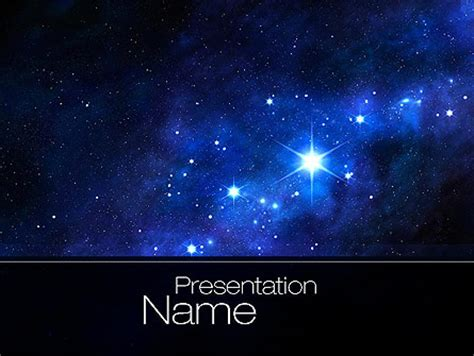 free universe powerpoint themes constellation presentation template for powerpoint and