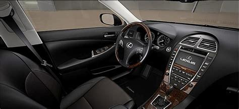 black lexus interior lexus es 350 with black saddle interior lexus