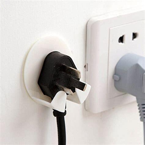 bathroom plug socket plastic adhesive plug hook bathroom power plug socket