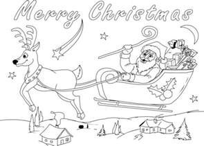 merry christmas coloring pages 2017 free printable christmas coloring