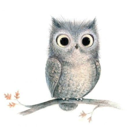 illustration by sydney hanson owls 2 pinterest