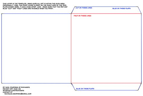 Cd Sleeve Design Template by Diy Cd Slip Template By Nick Og On Deviantart