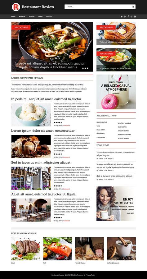 excellent cafe and restaurant website templates entheos cafe and restaurant website template 52021 templates com
