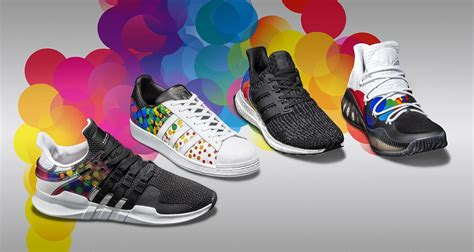 Pride To Pack adidas drops quot pride quot pack in support of lgbt community