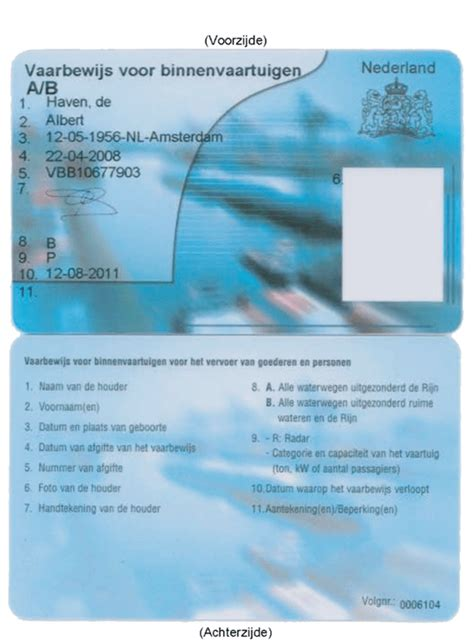 vaarbewijs rijn 02 06 2010 reglement scheepvaartpersoneel rijn rsp