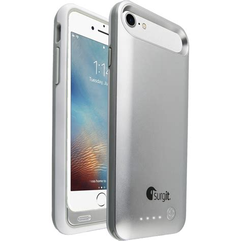 iphone 7 b surgit battery for iphone 7 8 silver smapc ip7 s b h