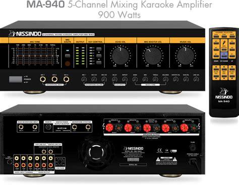 Karaoke Mixer Lifier Ma 1600 nissind