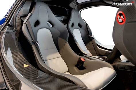 mclaren car seat 2015 mclaren p1 at newport dealership interior