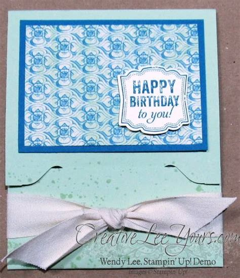 Envelope Punch Board Gift Card Holder - envelope punch board gift card holder creativelee yours