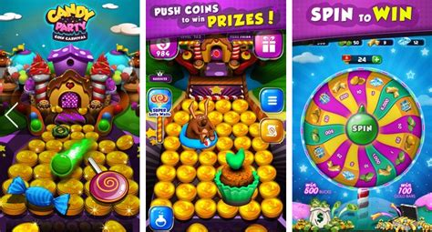 download game android coin dozer mod candy donuts coin party dozer mod apk for android download