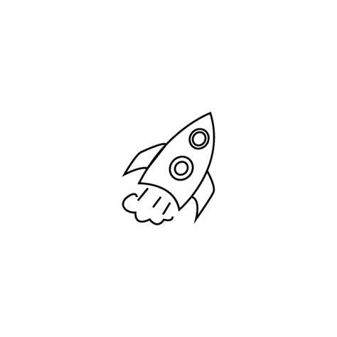 doodle rocket rocket icon endless icons