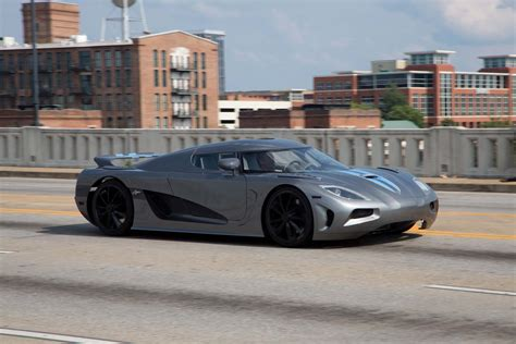 koenigsegg grey koenigsegg agera r gray front three quarter photo 23