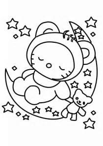 colorear kitty 51 dibujo colorear