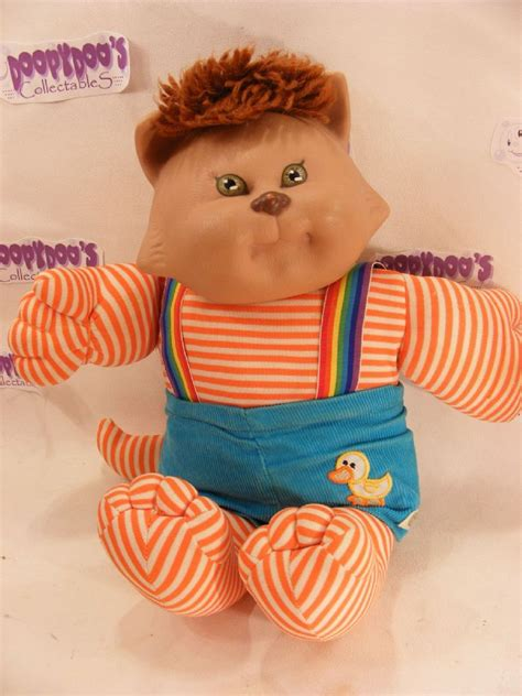 vintage   cabbage patch cabbage patch koosa cat
