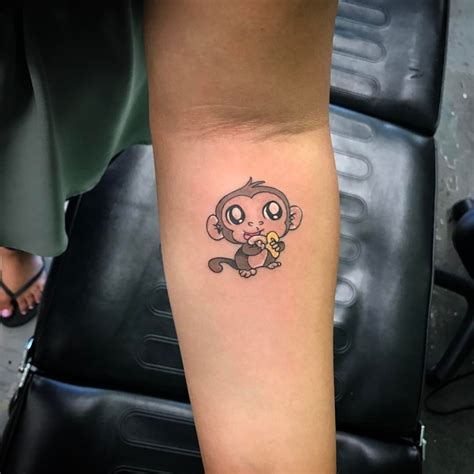cute monkey tattoos 50 brilliant monkey design ideas who want to get inked