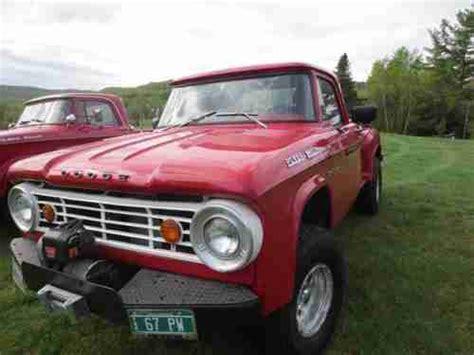 sell   dodge power wagon  motor auto tranny