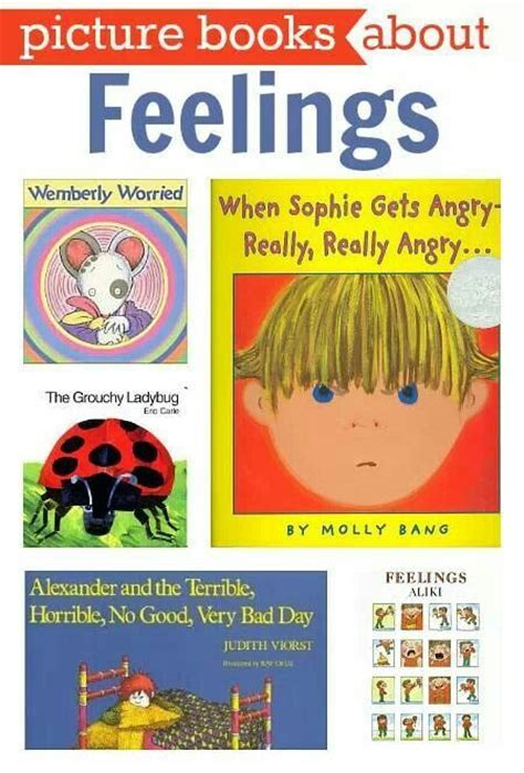 the emotional of the toddler books 17 best images about feelings emotions on