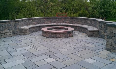 Brick Fire Pit For The House Pinterest Firepit Bricks